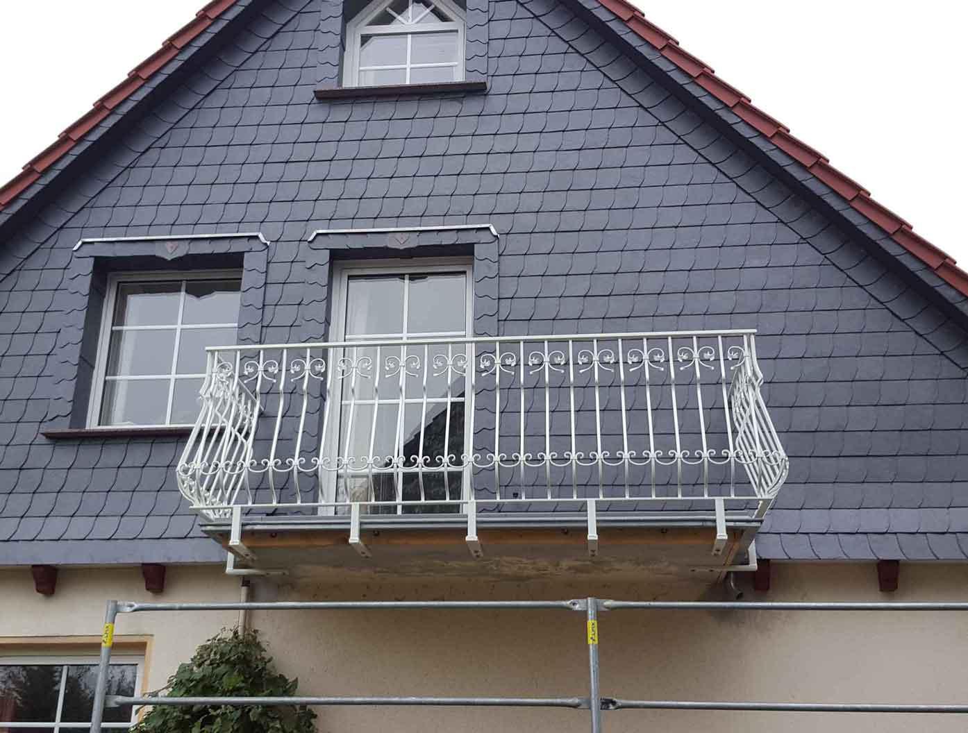 Hirsch Metallbau Balkongeländer 018 - Balkongeländer-18