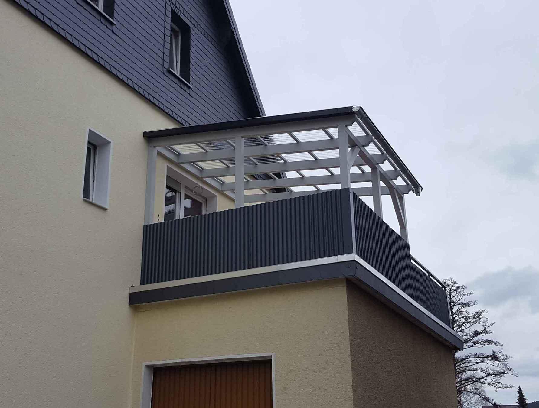 Hirsch Metallbau Balkongeländer 019 - Balkongeländer-19