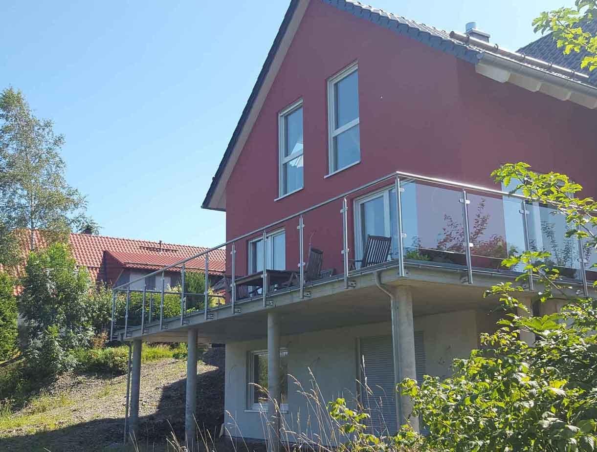Hirsch Metallbau Balkongeländer 036 - Balkongeländer-36