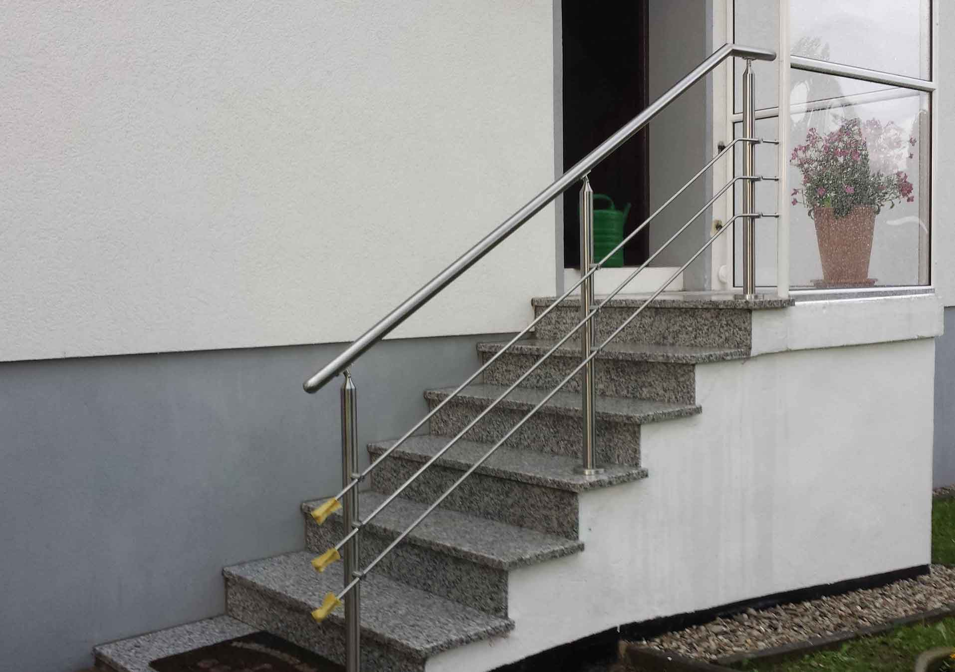 Hirsch Metallbau Treppengeländer 003 - Treppengeländer-03