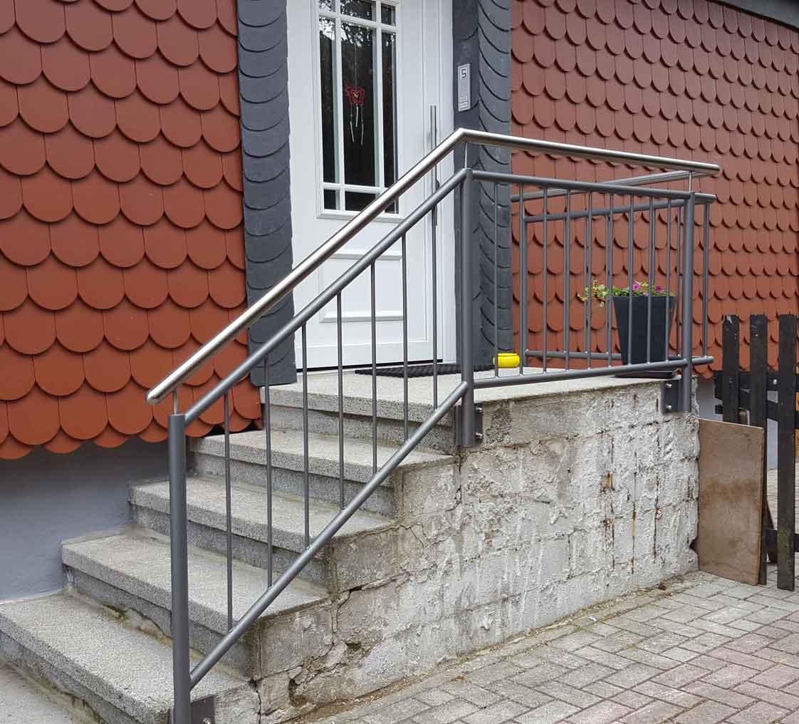 Hirsch Metallbau Treppengeländer 005 - Treppengeländer-05