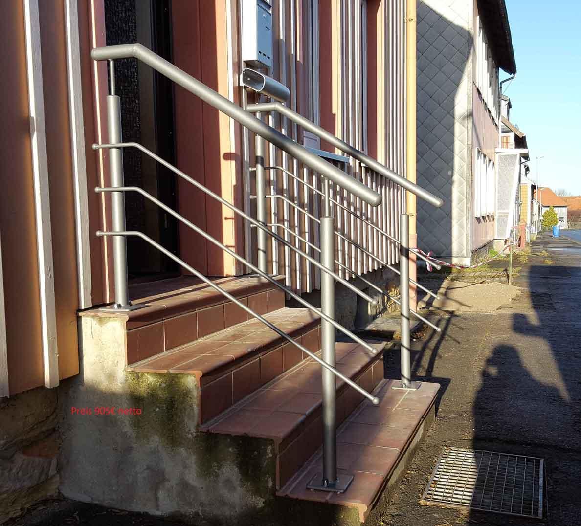 Hirsch Metallbau Treppengeländer 007 - Treppengeländer-07