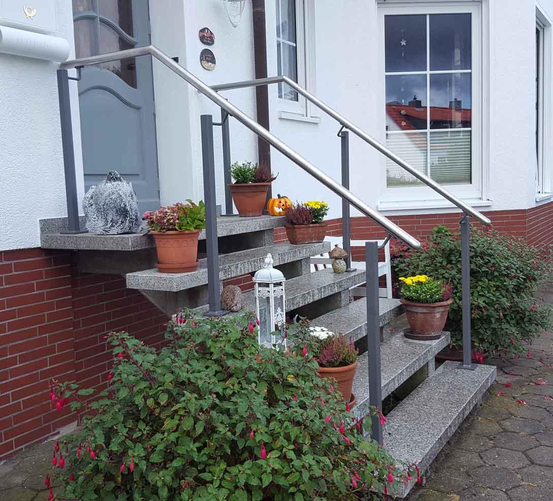 Hirsch Metallbau Treppengeländer 014 - Treppengeländer-14