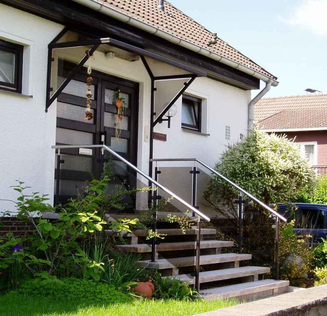 Hirsch Metallbau Vordach 005 - Vordach-05