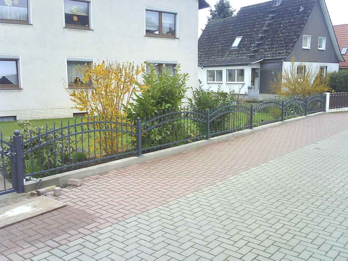 Hirsch Metallbau Zäune Tore 009 - Zäune-Tore-09