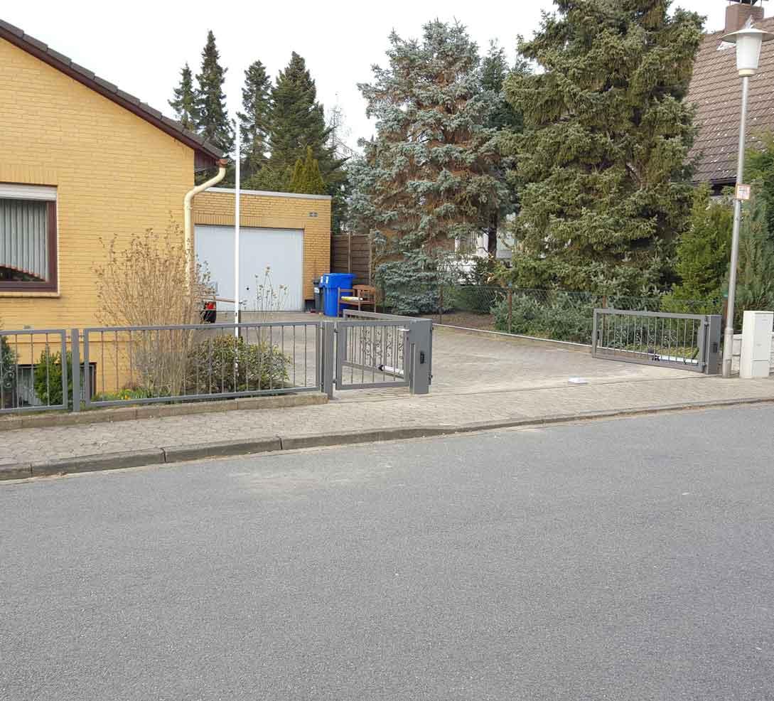 Hirsch Metallbau Zäune Tore 024 - Zäune-Tore-24