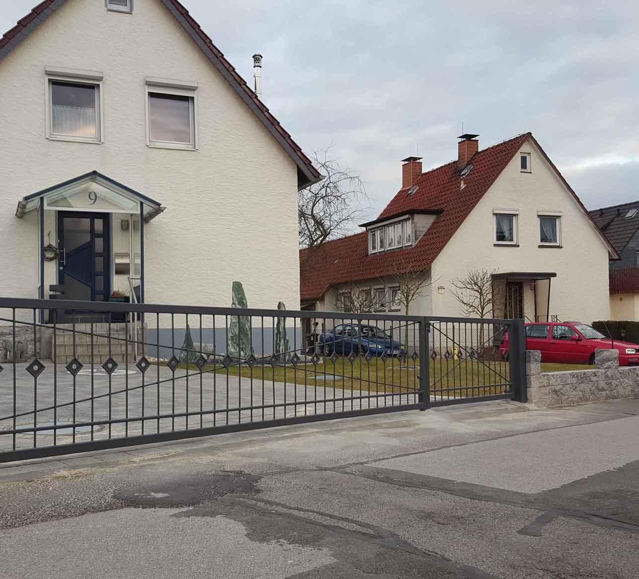 Hirsch Metallbau Zäune Tore 031 - Zäune-Tore-31