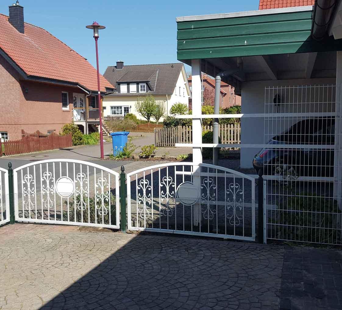 Hirsch Metallbau Zäune Tore 036 - Zäune-Tore-36