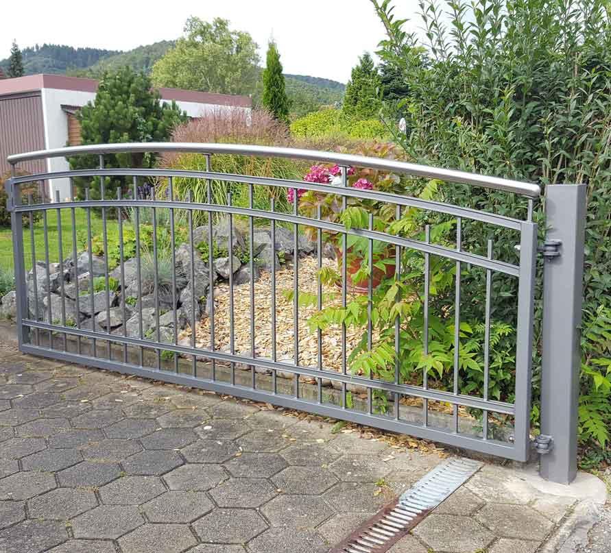 Hirsch Metallbau Zäune Tore 054 - Zäune-Tore-54