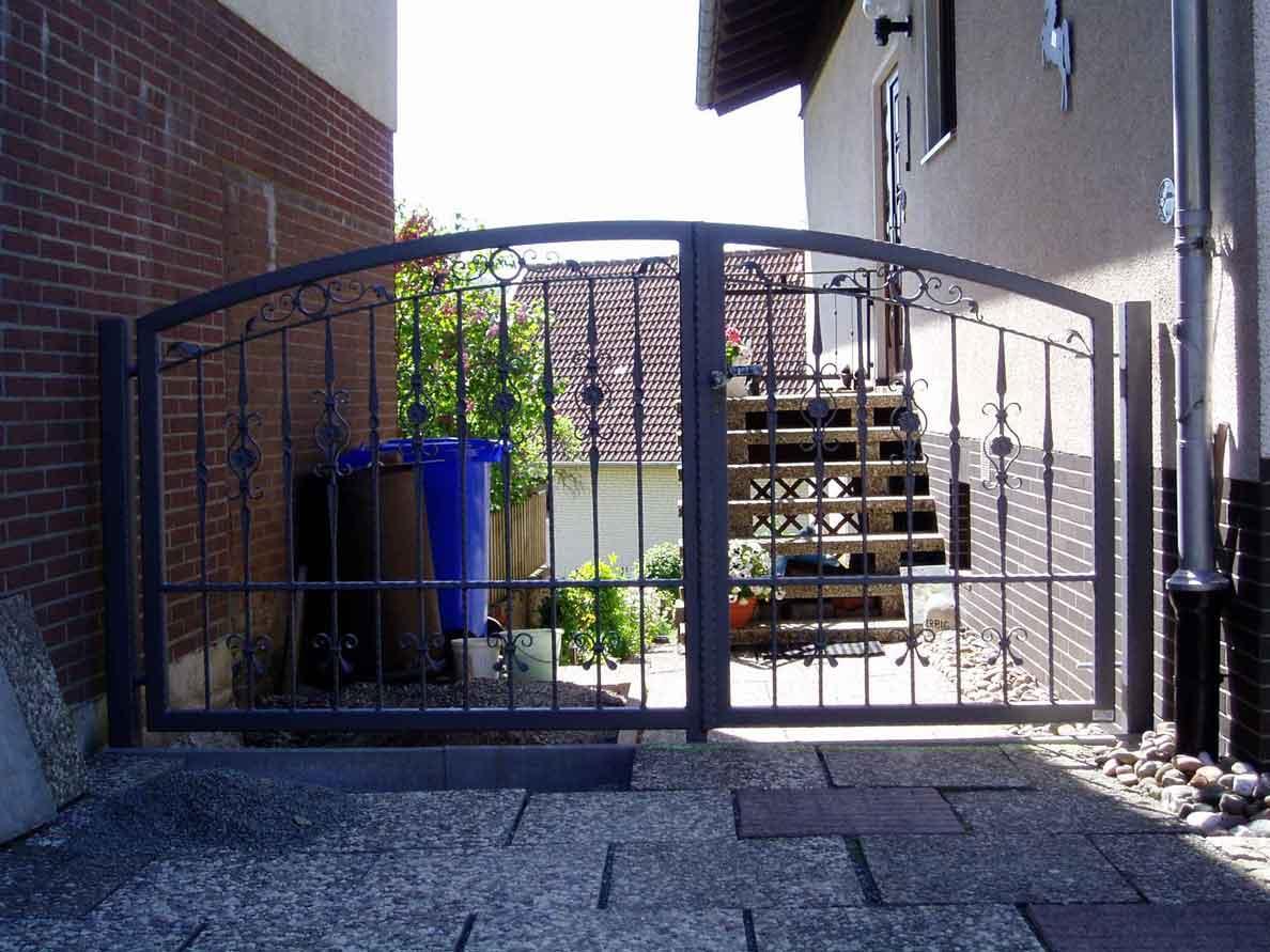 Zäune Tore 01 Hirsch Metallbau