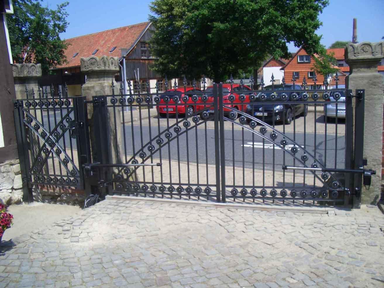 Zäune Tore 03 Hirsch Metallbau