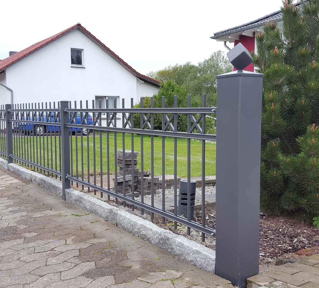 Zäune Tore 41 Hirsch Metallbau