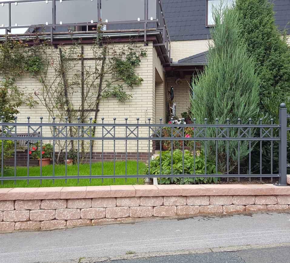 Zäune Tore 48 Hirsch Metallbau