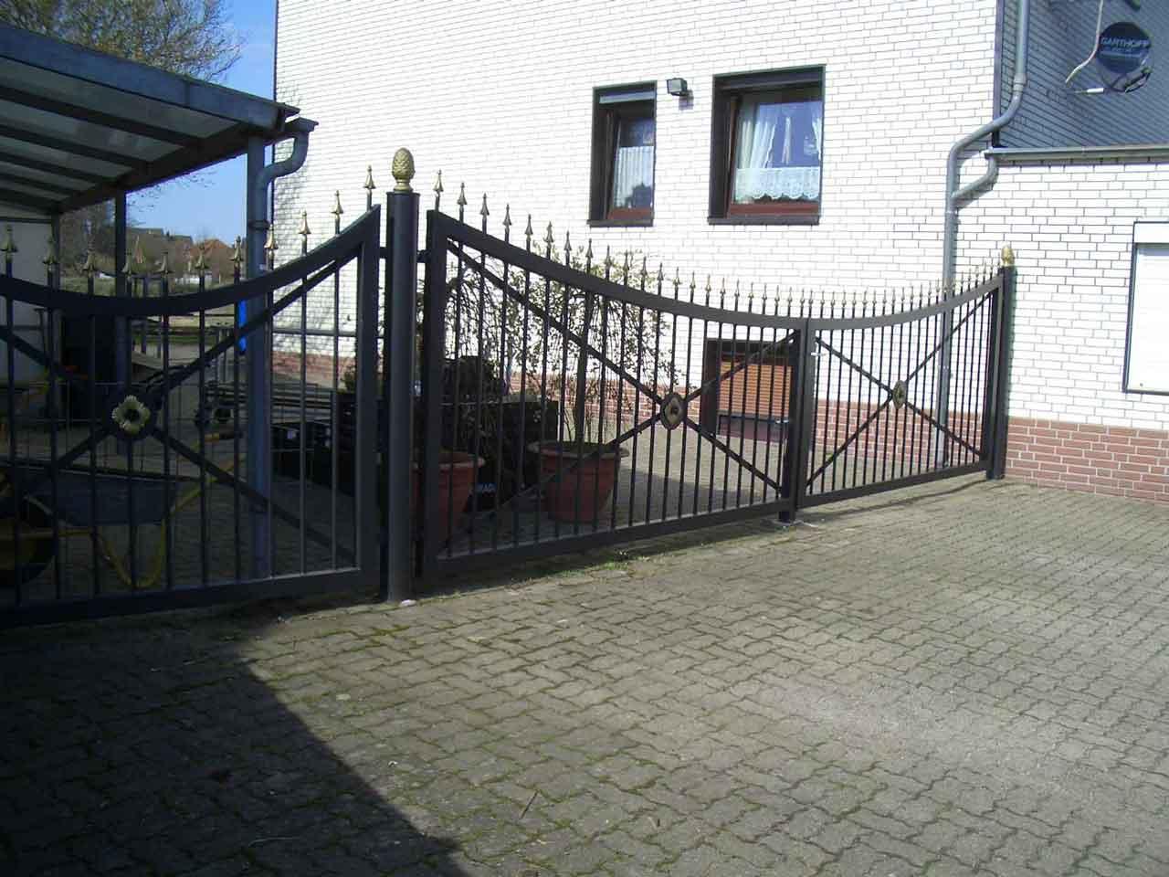 Zäune Tore 56 Hirsch Metallbau