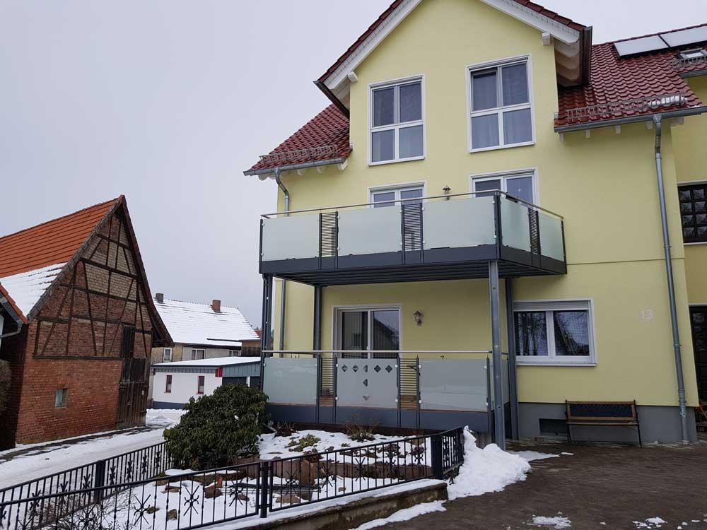 Hirsch Metallbau Balkongeländer 054 - Balkongeländer-54