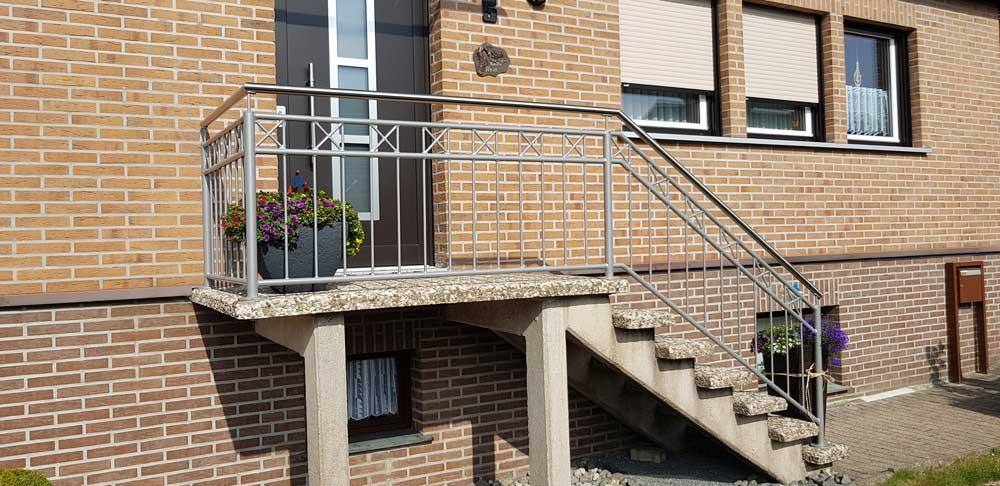Hirsch Metallbau Treppengeländer 023 - Treppengeländer-23