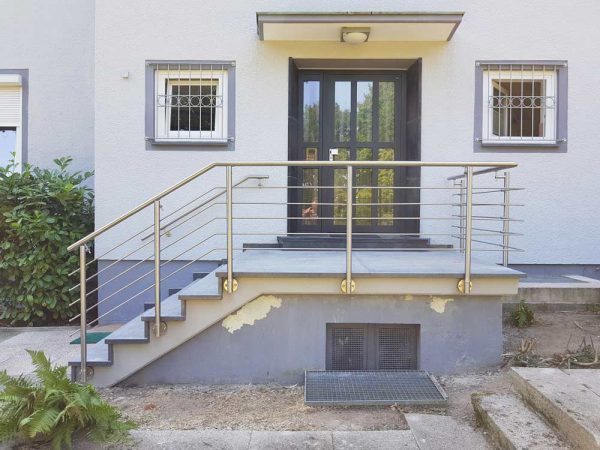 Hirsch Metallbau Treppengeländer 026 - Treppengeländer-26