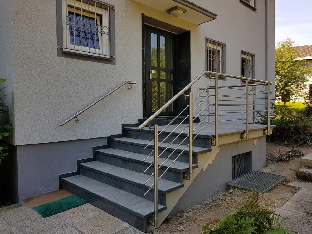 Hirsch Metallbau Treppengeländer 027 - Treppengeländer-27