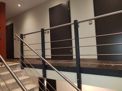 Hirsch Metallbau Treppengeländer 029 400x300 - Treppengeländer