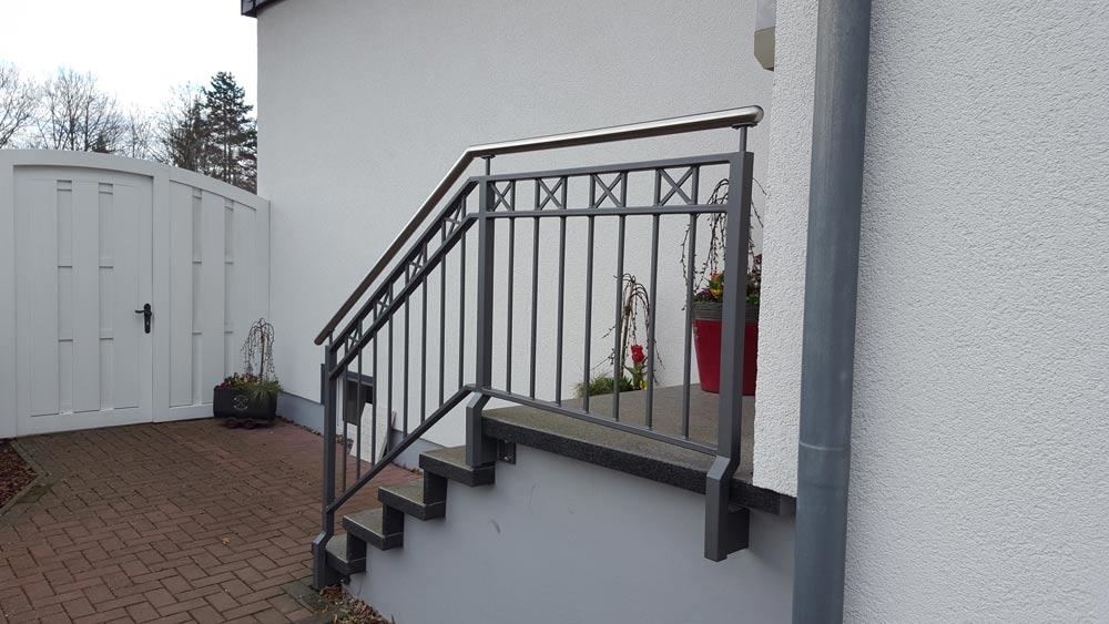 Hirsch Metallbau Treppengeländer 032 - Treppengeländer-32
