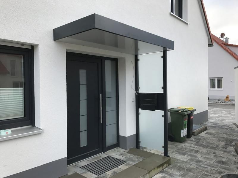 Hirsch Metallbau Vordach 006 - Vordach-06