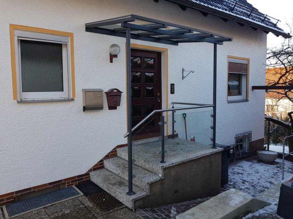 Hirsch Metallbau Vordach 008 - Vordach-08
