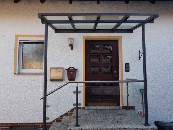 Hirsch Metallbau Vordach 010 - Vordach-10