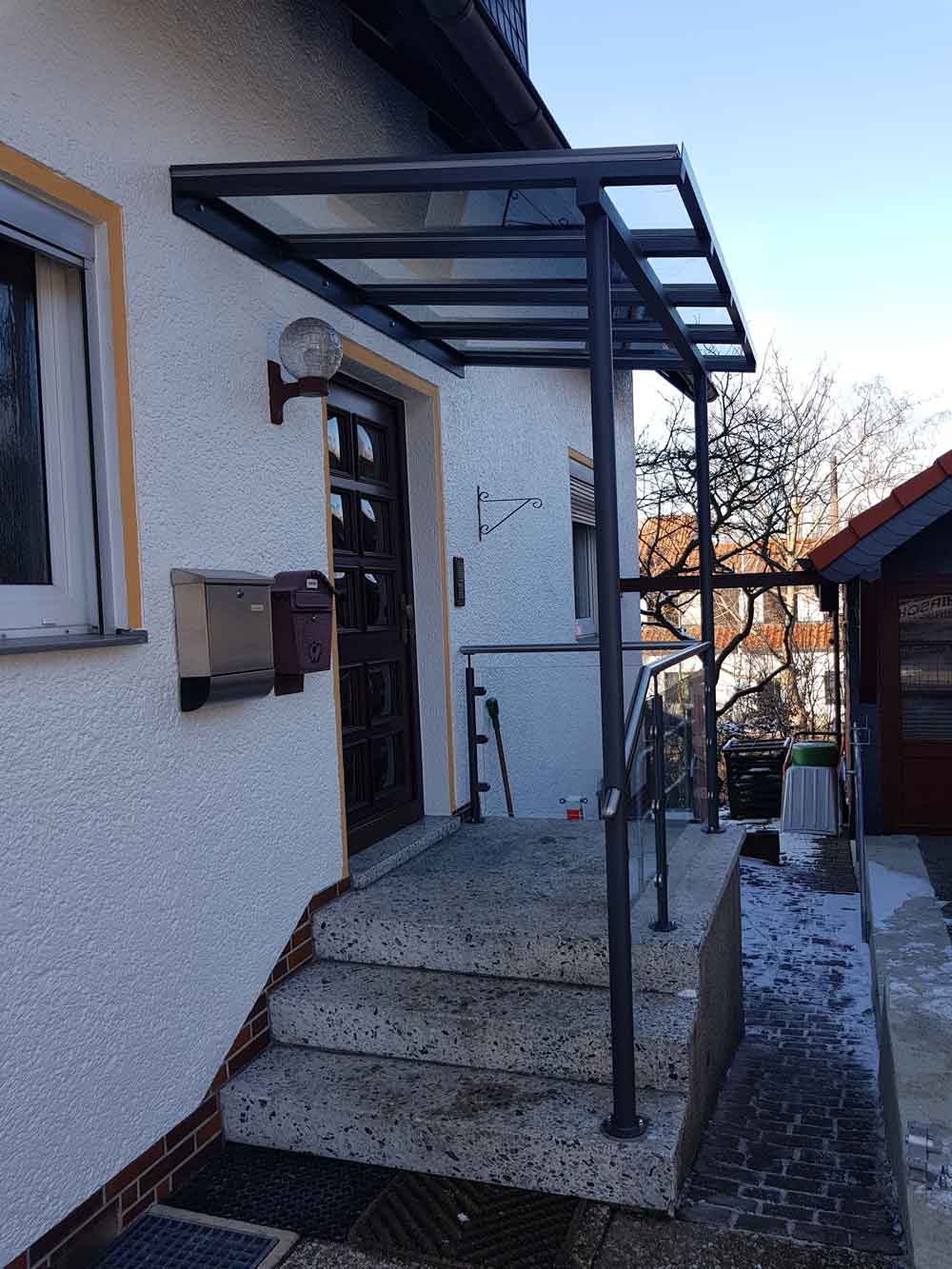Hirsch Metallbau Vordach 011 - Vordach-11