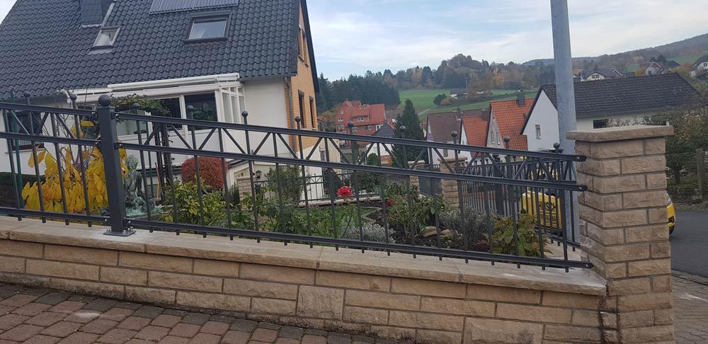 Hirsch Metallbau Zäune Tore 065 - Zäune-Tore-65