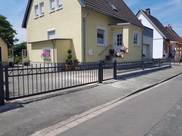 Hirsch Metallbau Zäune Tore 078 - Zäune-Tore-78
