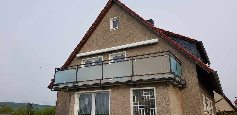 Glasgeländer Hirsch Metallbau