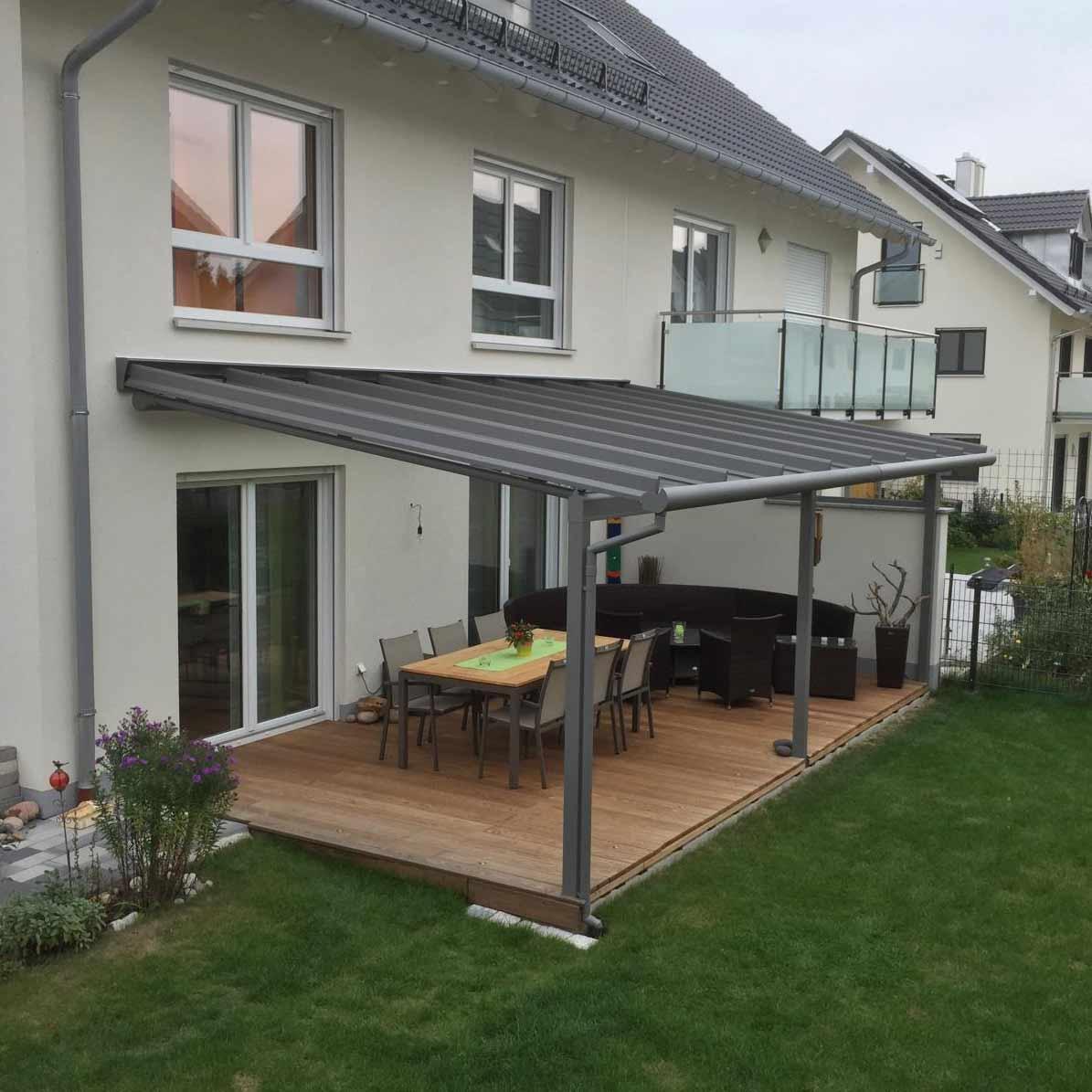 Terrassendach von Erhardt Hirsch Metallbau