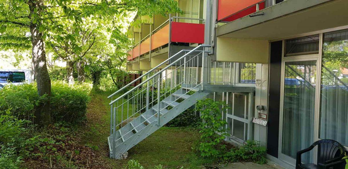 Fluchttreppen Hirsch Metallbau