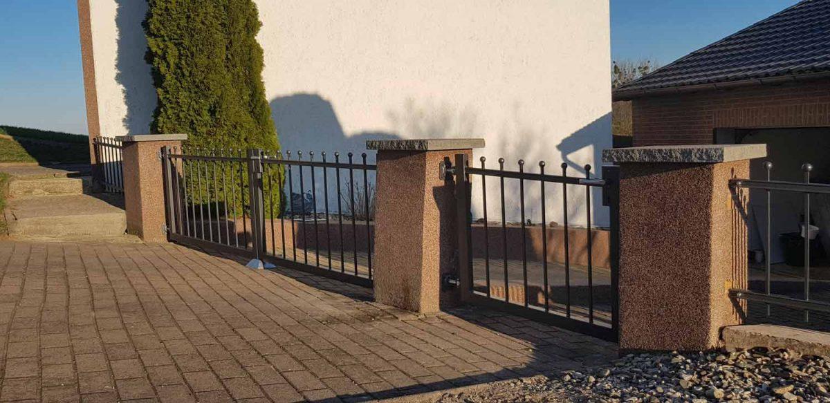 Hirsch Metallbau Zäune Tore 091 1200x583 - ZÄUNE & TORE
