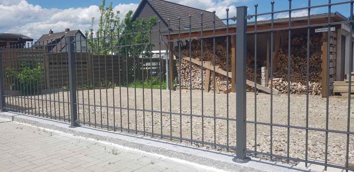 Hirsch Metallbau Zäune Tore 093 1200x583 - ZÄUNE & TORE