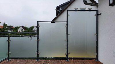 Hirsch Metallbau Balkongeländer 079 400x225 - Balkongeländer