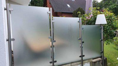 Hirsch Metallbau Sichtschutzwand 001 400x225 - SICHTSCHUTZWÄNDE