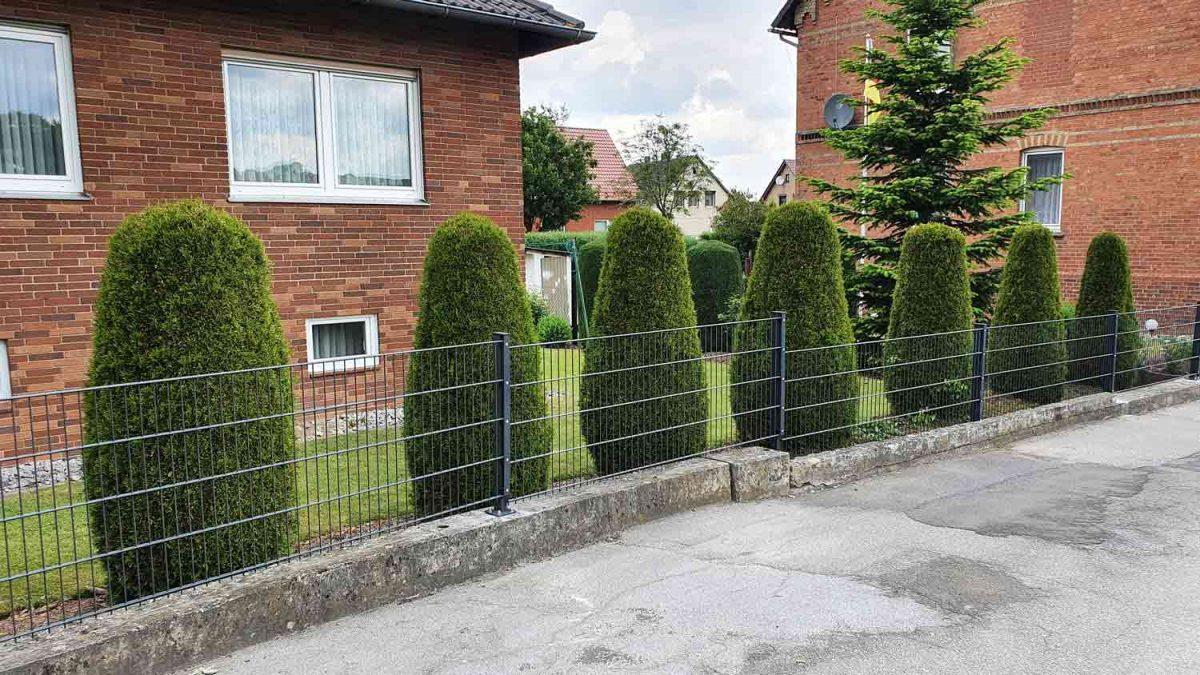 Hirsch Metallbau Zäune Tore 095 1200x675 - ZÄUNE & TORE