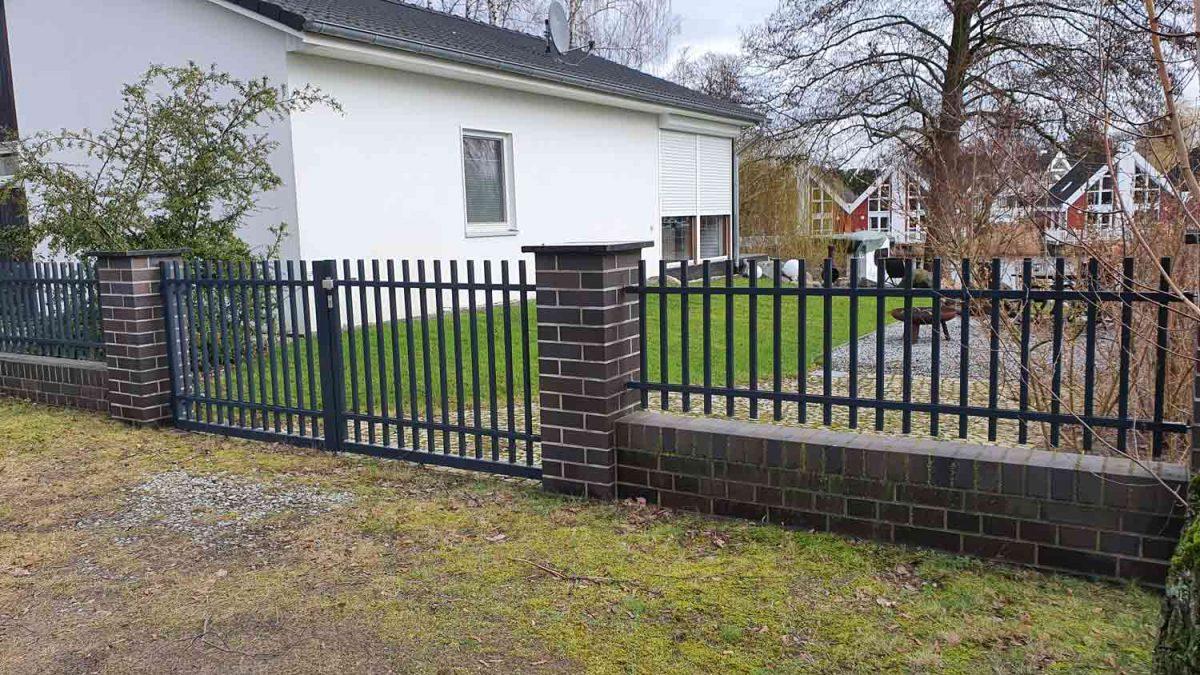 Hirsch Metallbau Zäune Tore 107 1200x675 - ZÄUNE & TORE